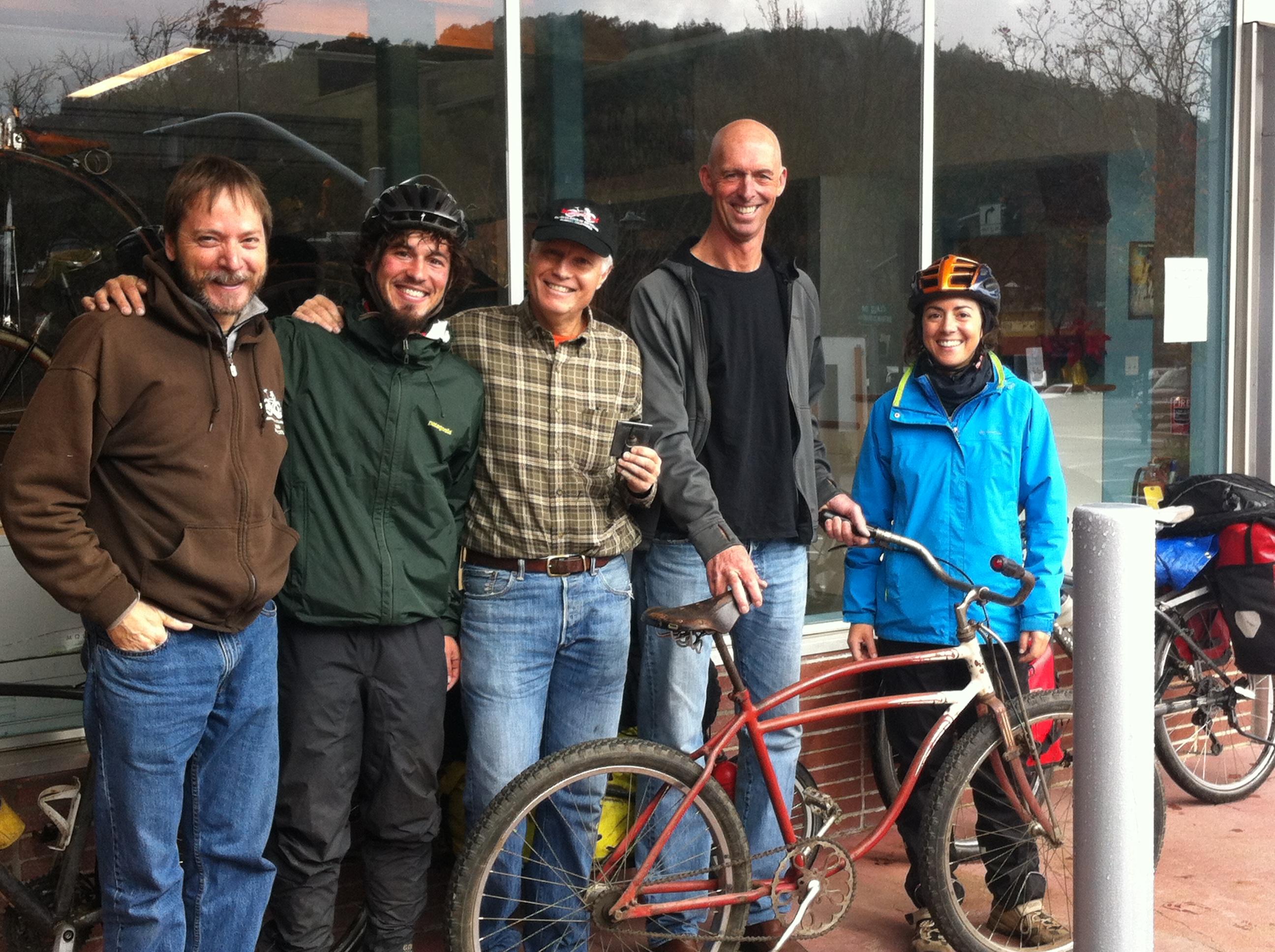 Amb en Joe Breeze al Marin Museum of Bicycling