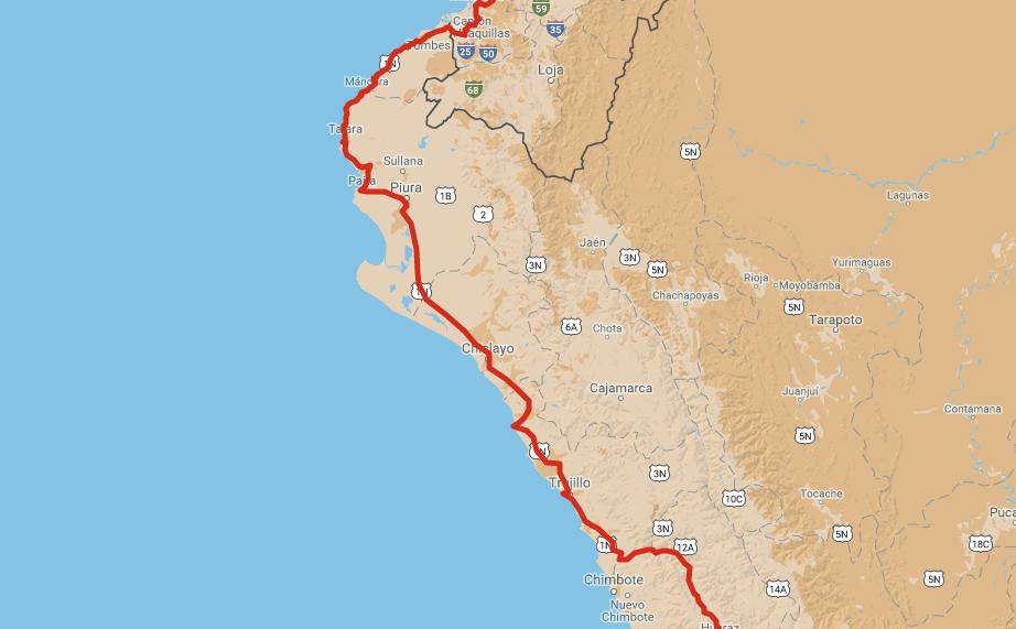 mapa-costa-nord-peru